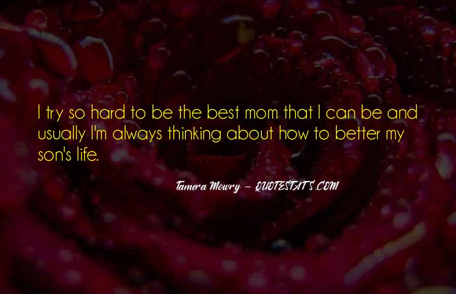Quotes About A Mom And Son #1093022