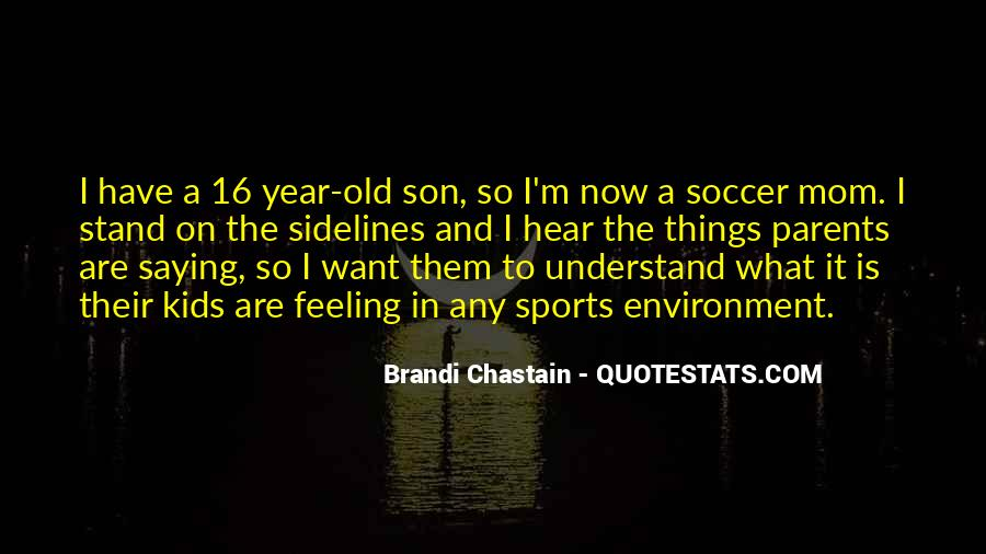 Quotes About A Mom And Son #212302