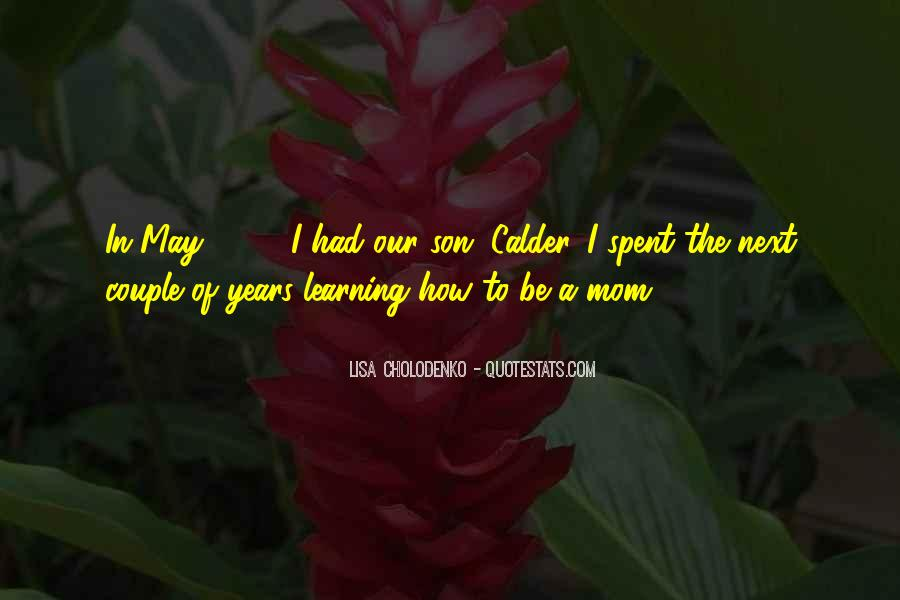 Quotes About A Mom And Son #311986