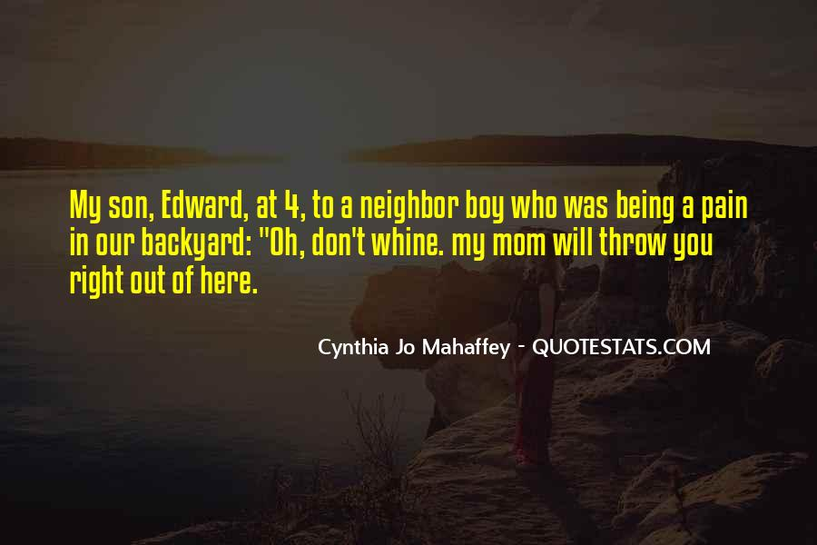 Quotes About A Mom And Son #831178