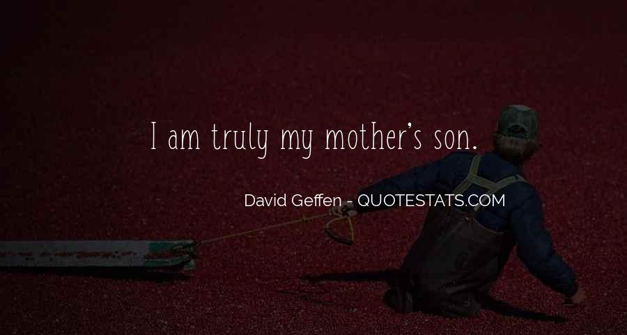 Quotes About A Mom And Son #957381