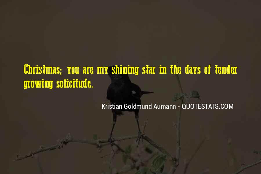 Quotes About The Christmas Star #1571620