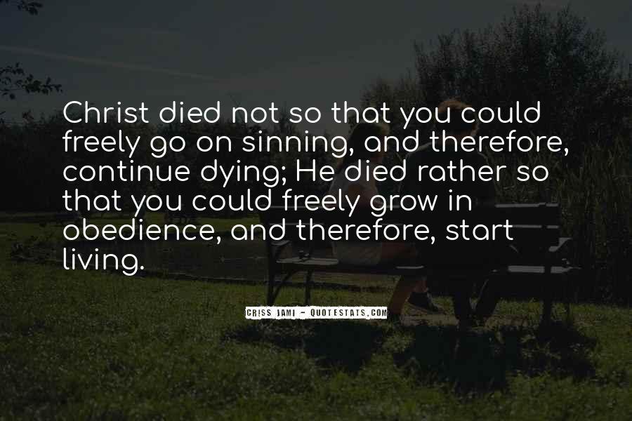 Quotes About Jesus Death #205070