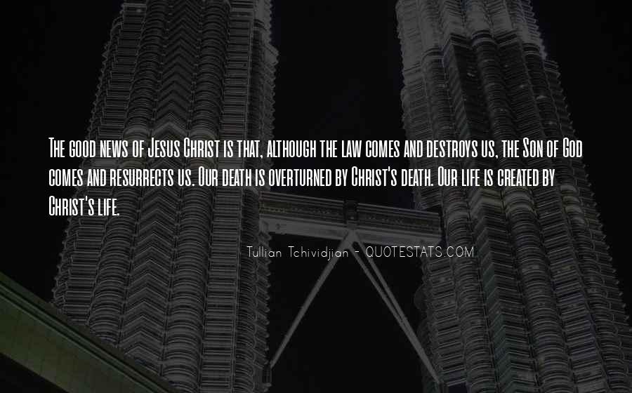 Quotes About Jesus Death #236390