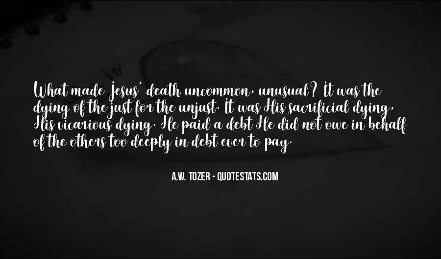 Quotes About Jesus Death #395726