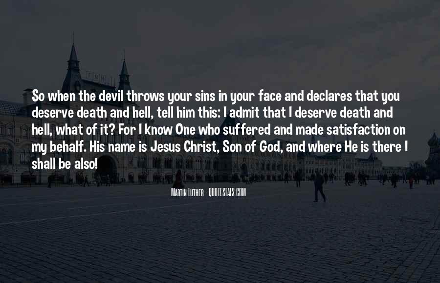 Quotes About Jesus Death #503506