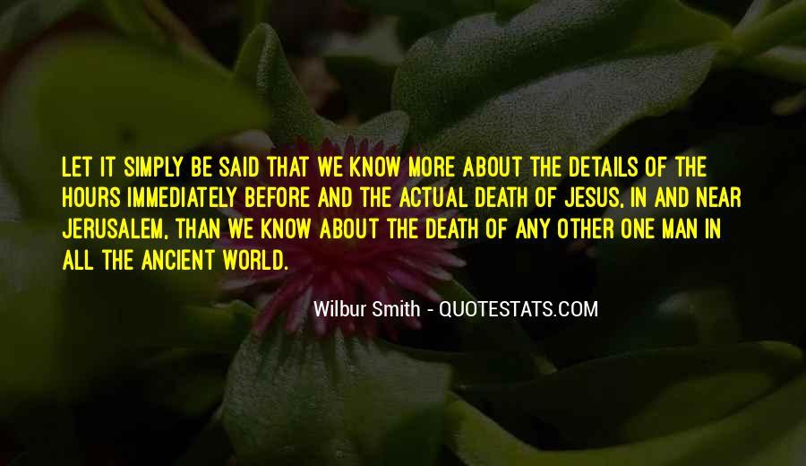 Quotes About Jesus Death #506071