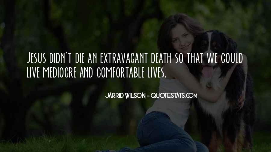 Quotes About Jesus Death #547238