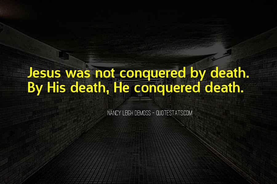 Quotes About Jesus Death #576457