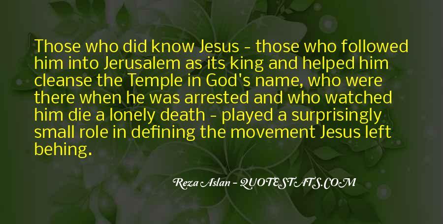 Quotes About Jesus Death #579321