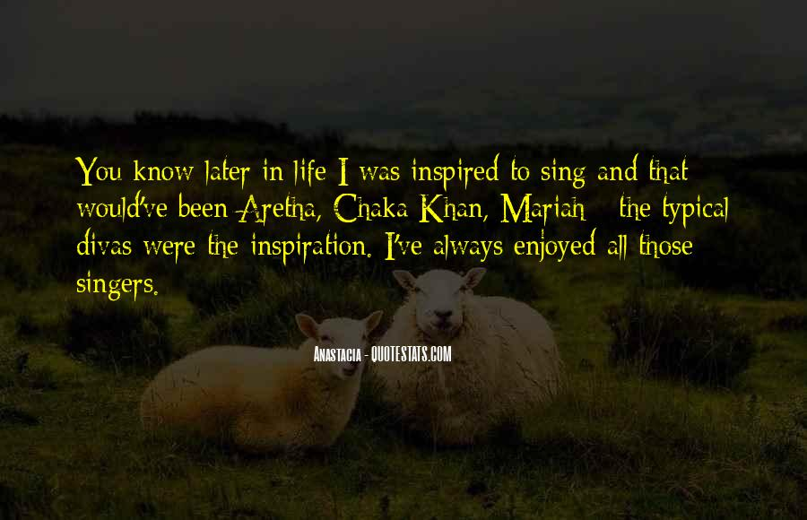 Quotes About Inspired Life #118617
