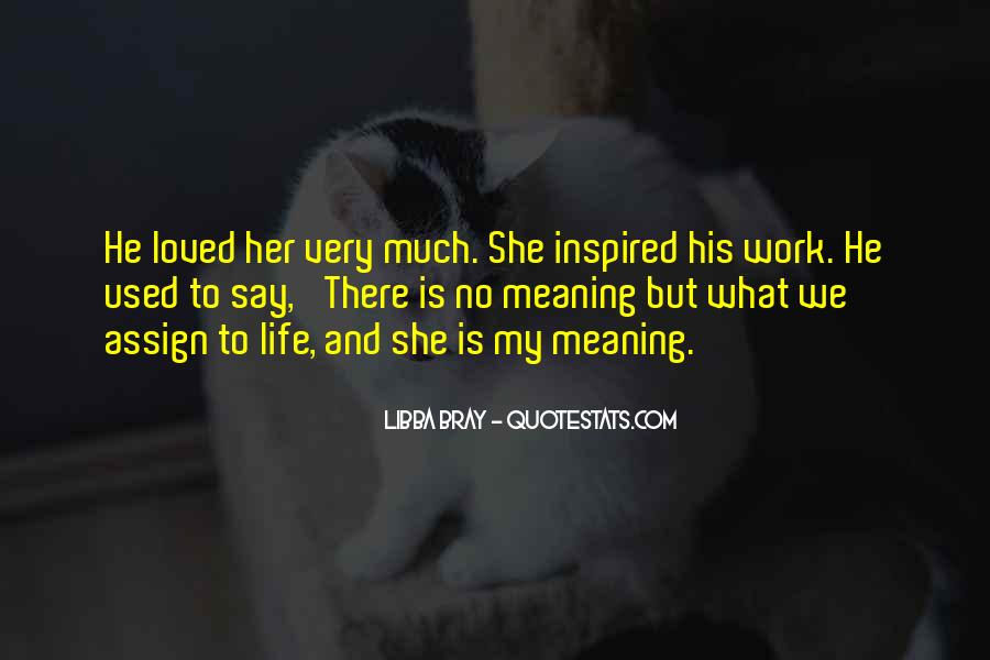 Quotes About Inspired Life #160649