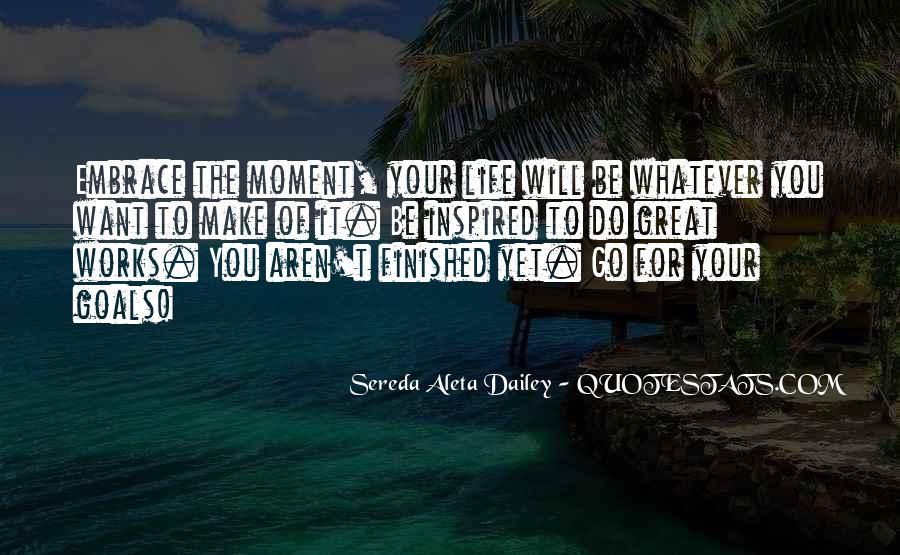 Quotes About Inspired Life #228806