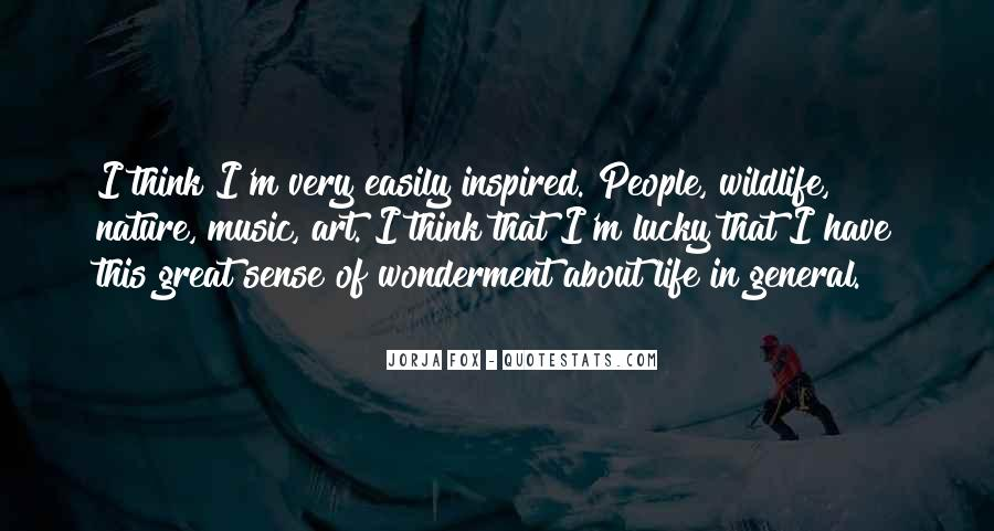 Quotes About Inspired Life #411056