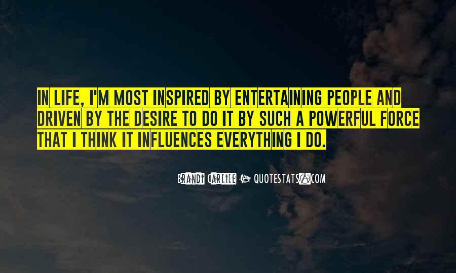 Quotes About Inspired Life #537397