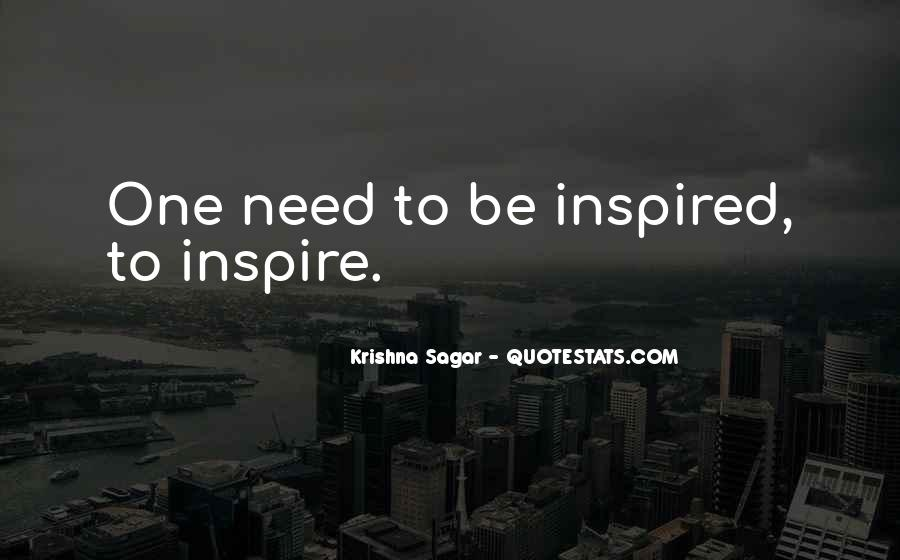 Quotes About Inspired Life #575536