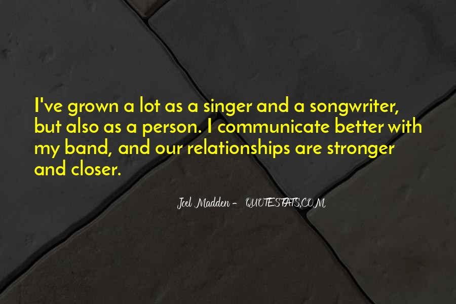 Quotes About Grown Up Relationships #1510825