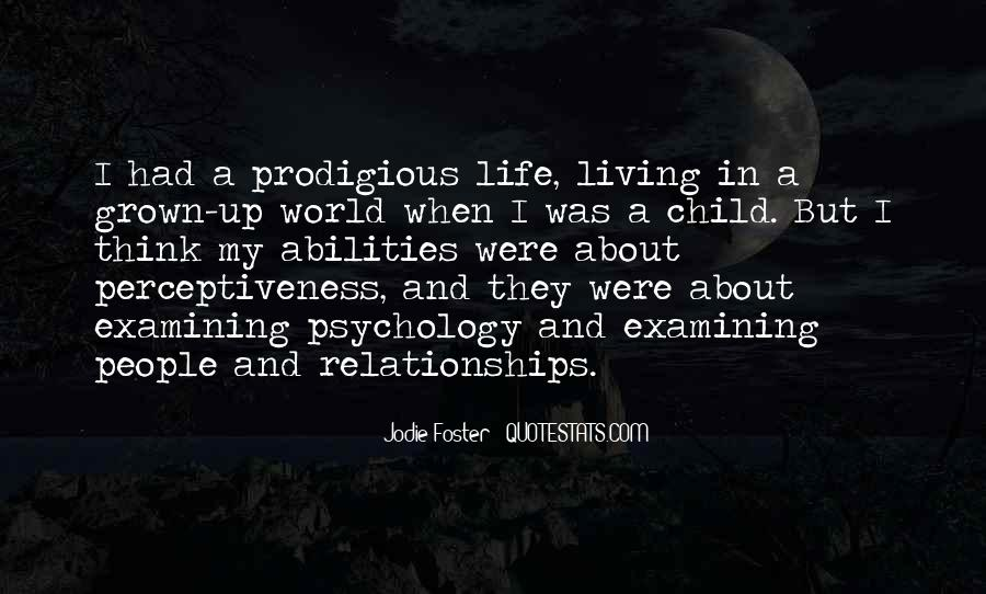 Quotes About Grown Up Relationships #765938