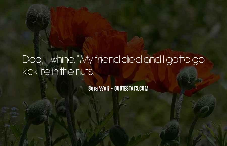 Quotes About A Friend Who Died #1214623