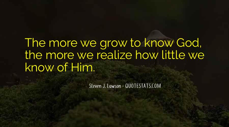 Quotes About Knowing Yourself And God #75616