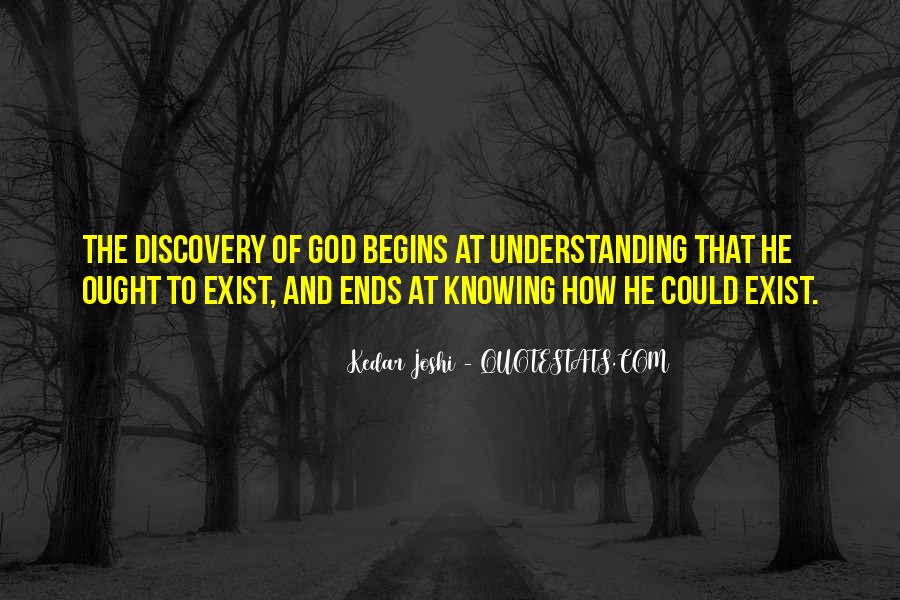 Quotes About Knowing Yourself And God #75948
