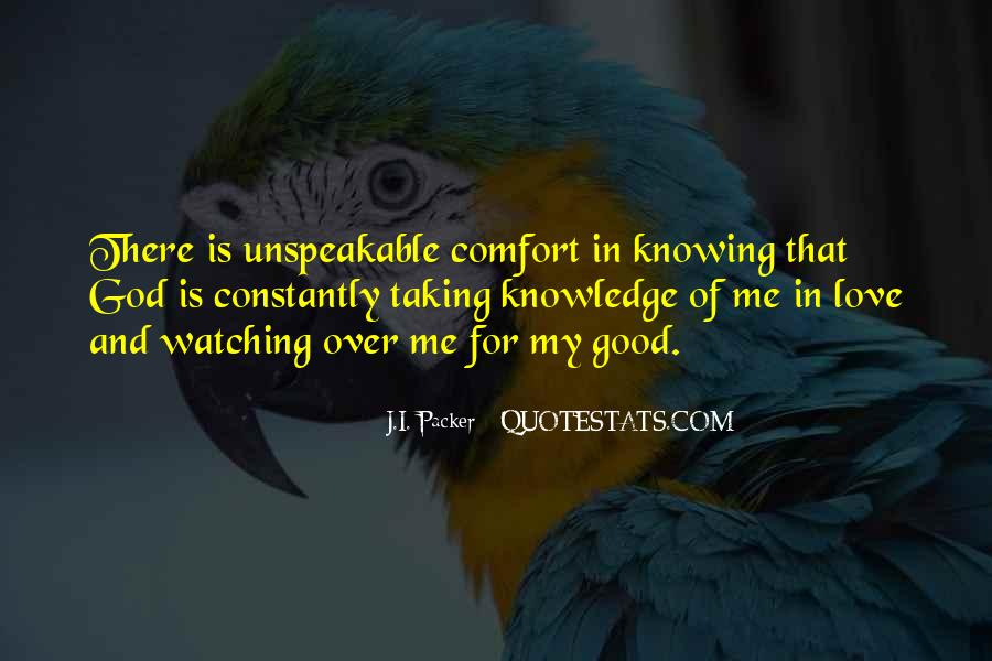 Quotes About Knowing Yourself And God #98800