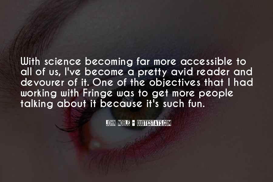 Quotes About Fringe Science #1621840