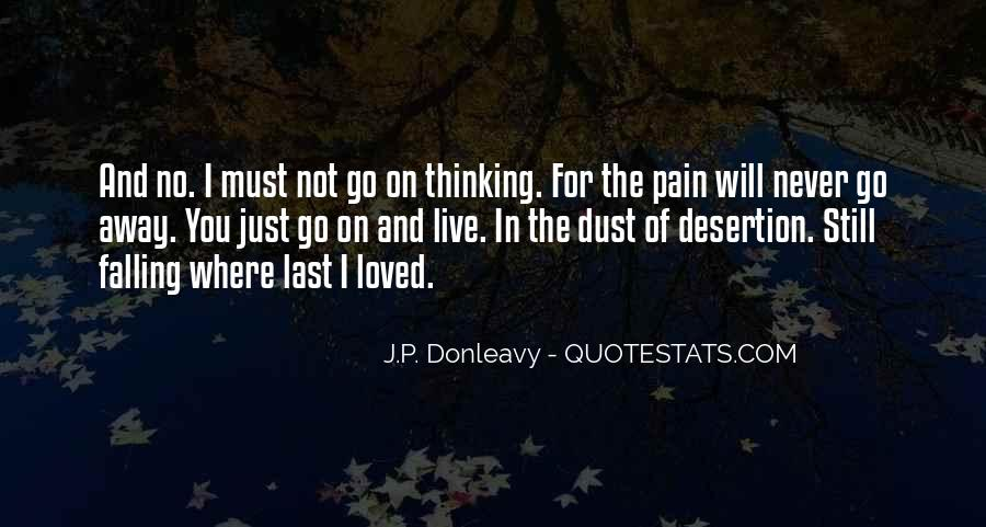 Quotes About Pain Of Love Lost #1631246