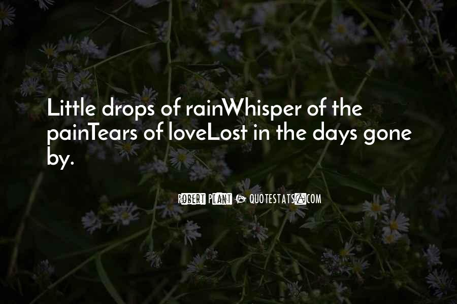 Quotes About Pain Of Love Lost #1755276