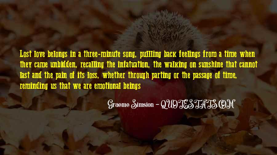 Quotes About Pain Of Love Lost #688303