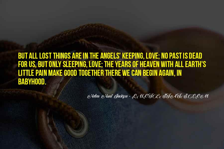 Quotes About Pain Of Love Lost #926775