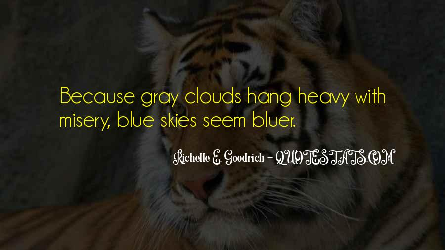 Quotes About Gray Skies #492127