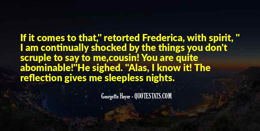 Quotes About Sleepless Nights #23821