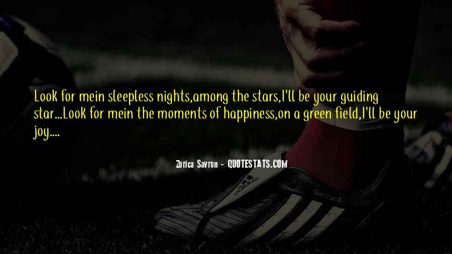 Quotes About Sleepless Nights #611967