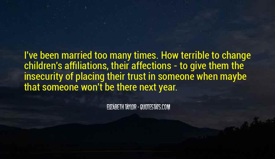 Quotes About How To Trust Your Man #15975