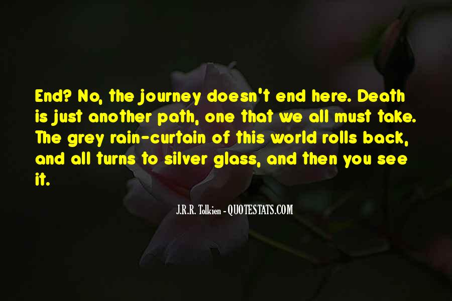 Quotes About Journey Tolkien #1629752