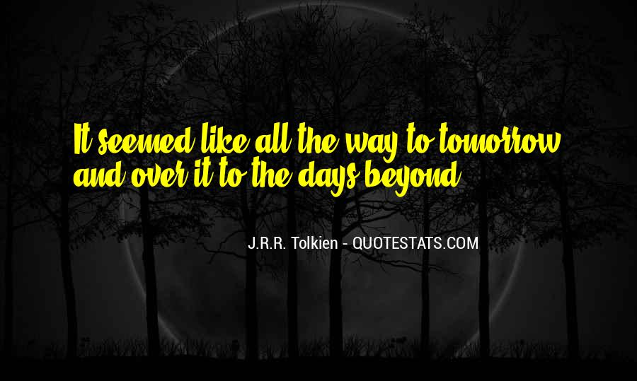 Quotes About Journey Tolkien #181616