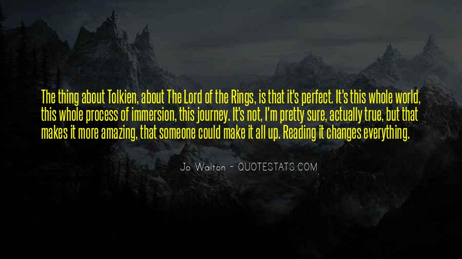 Quotes About Journey Tolkien #25986
