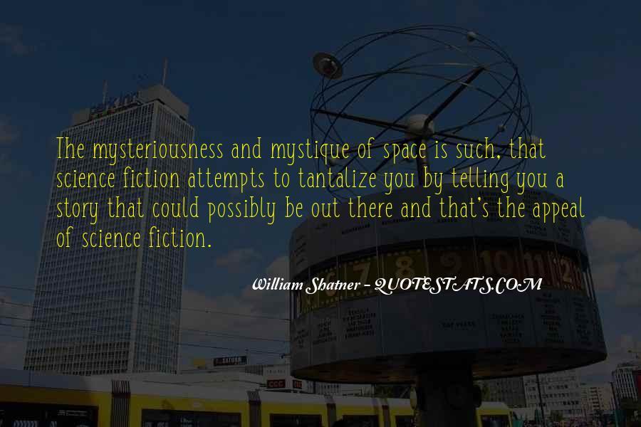 Quotes About Mystique #1093916