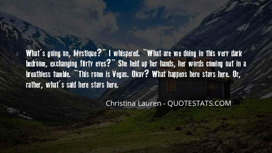 Quotes About Mystique #1106105