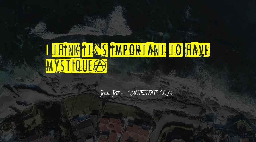 Quotes About Mystique #1173854