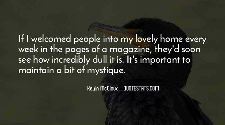 Quotes About Mystique #1515663