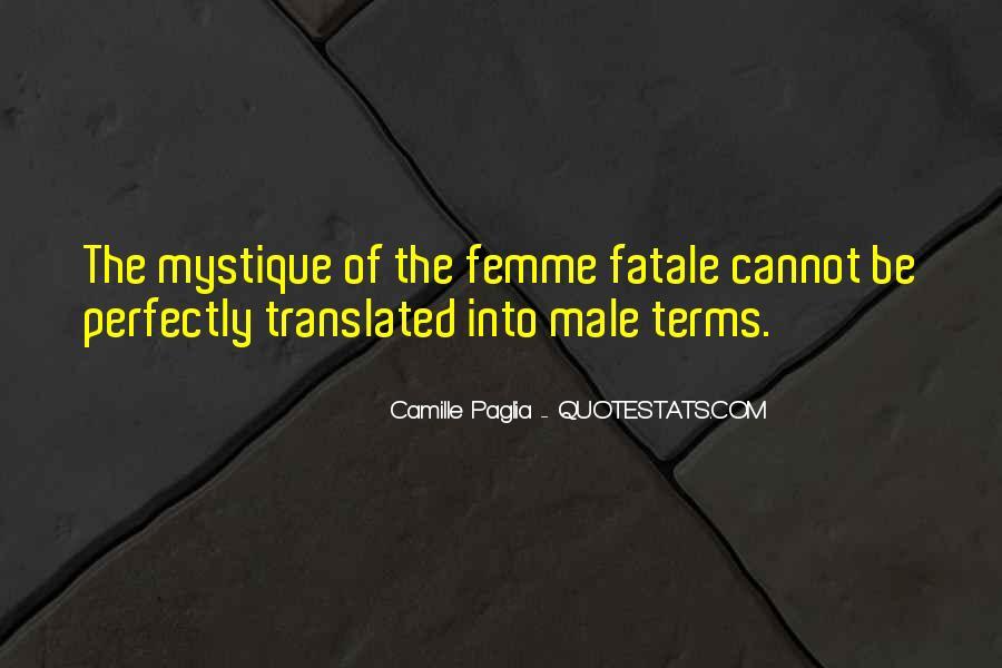 Quotes About Mystique #1636934