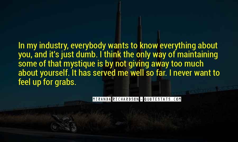 Quotes About Mystique #1703930
