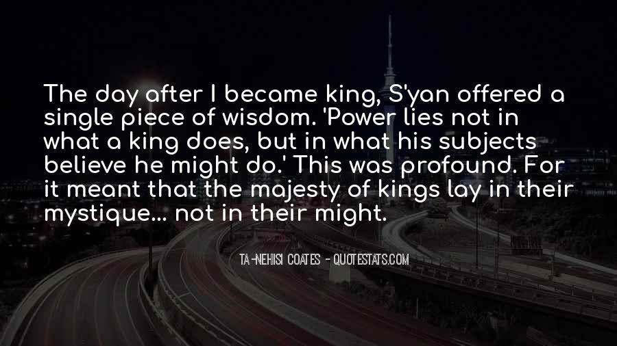 Quotes About Mystique #1791655