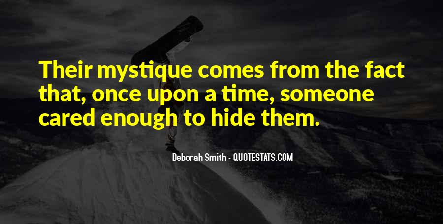 Quotes About Mystique #214118