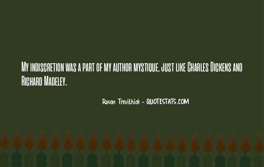 Quotes About Mystique #25531