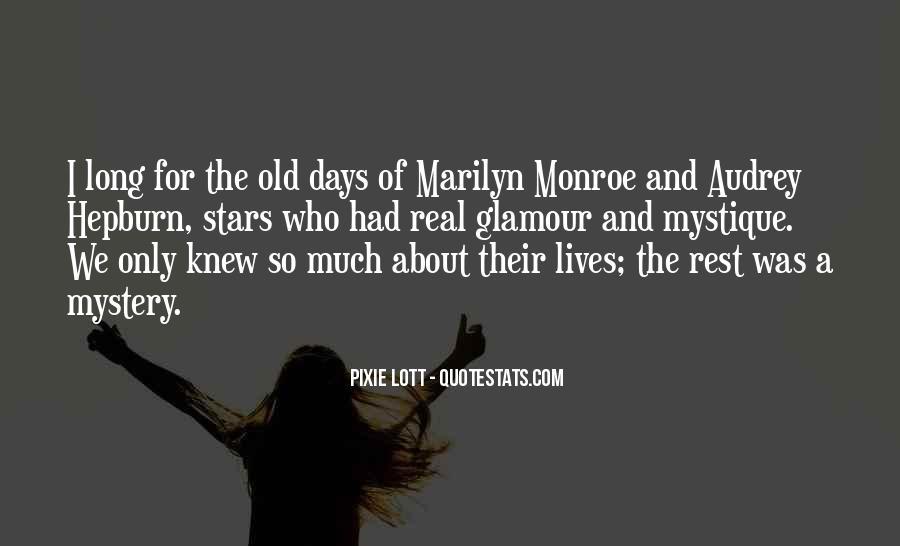 Quotes About Mystique #318673