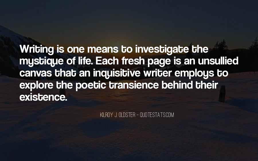 Quotes About Mystique #376525