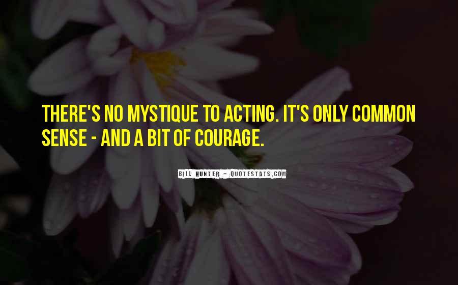 Quotes About Mystique #773406
